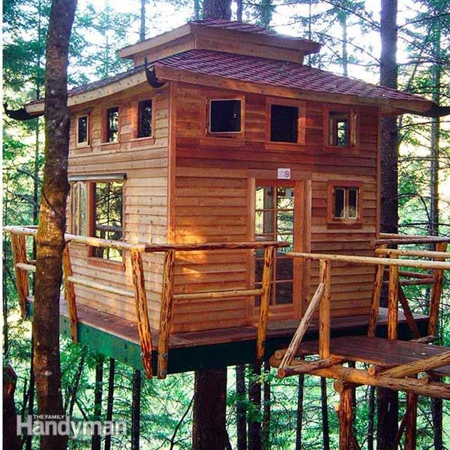Free Tree House Building Tips at The Family Handyman