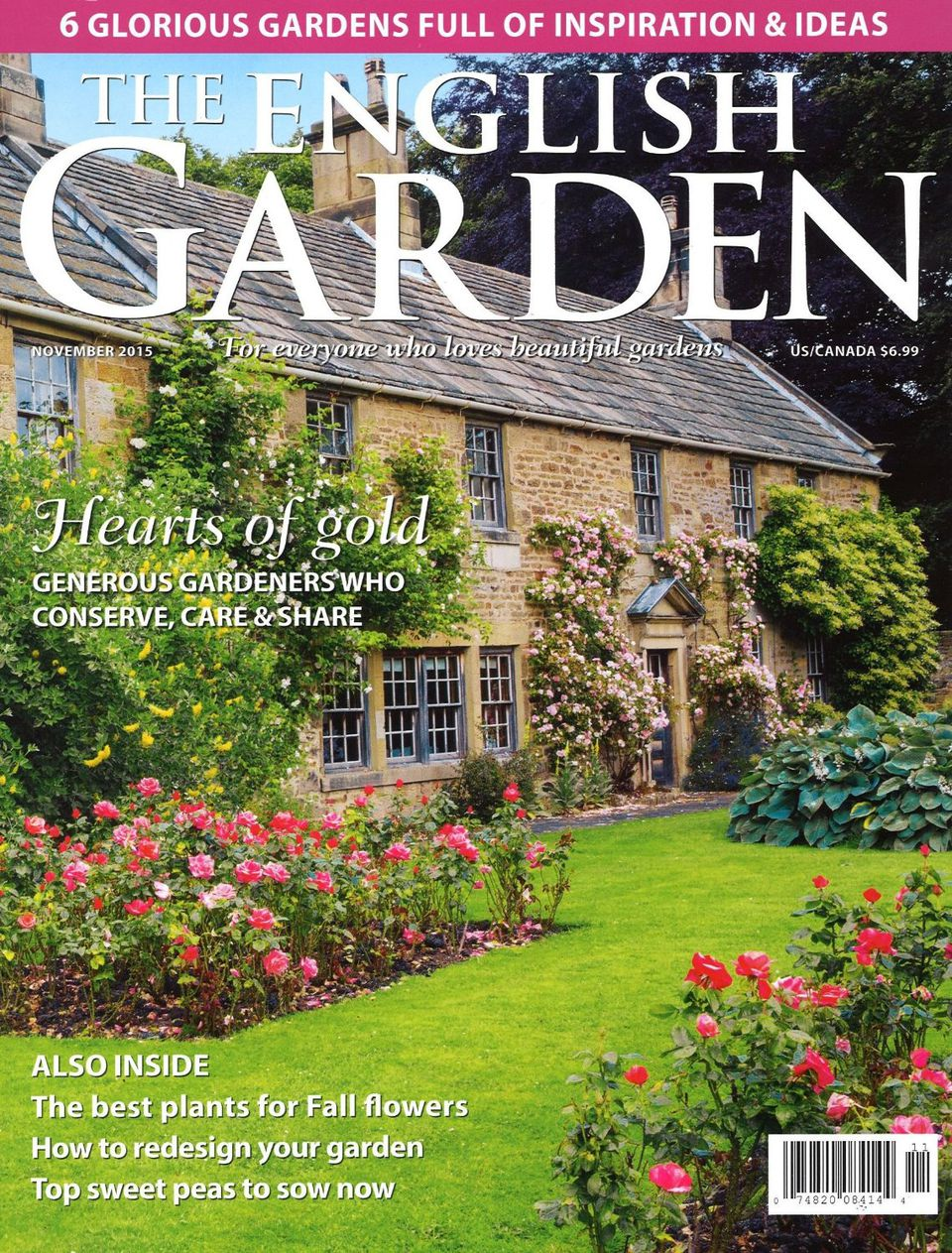 Top 10 garden magazines horticulture and landscaping for Front of house magazine