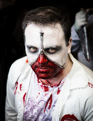 Real and Horrifying Zombie Makeup Tricks Real and Horrifying Zombie Makeup Tricks new foto