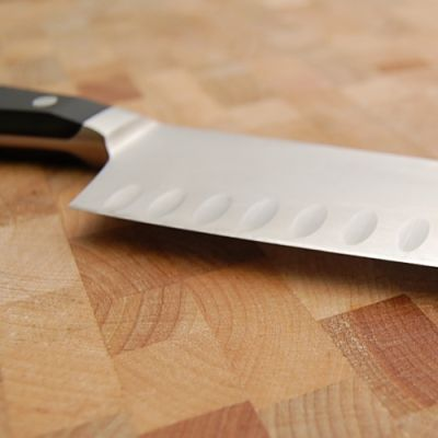 Chef's Knife Blade - The Anatomy of a Chef's Knife - Photo Tour