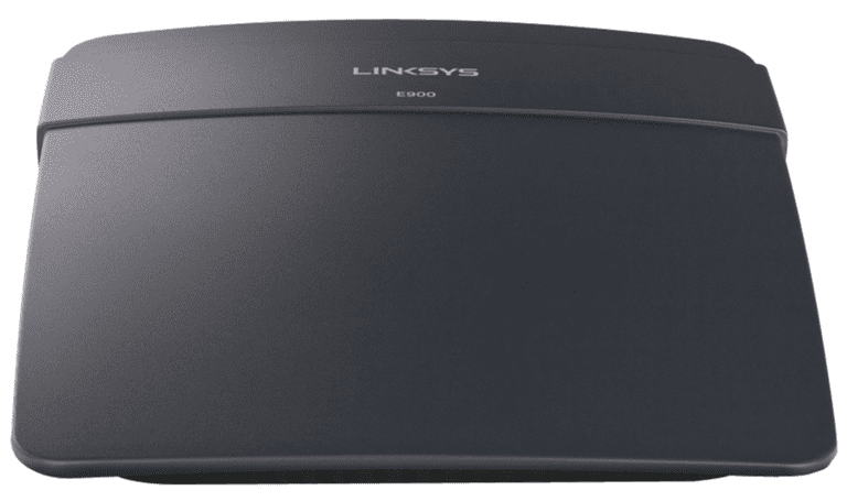 Picture of the Linksys E900/N300 wireless router
