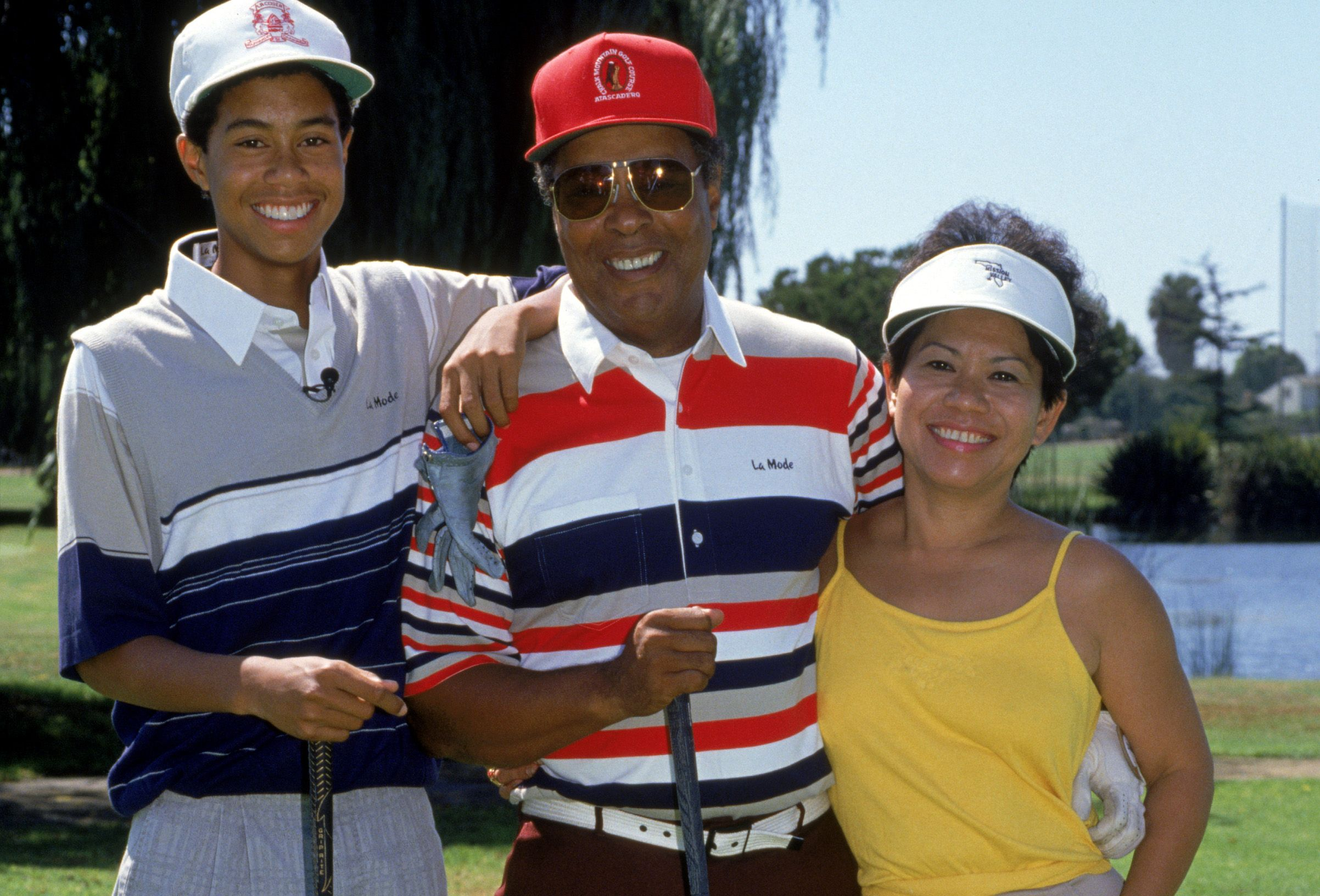 tiger woods u0026 39  parents  meet mom and dad