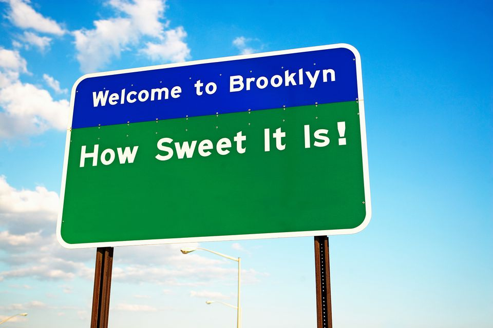 Welcome to brooklyn sign.