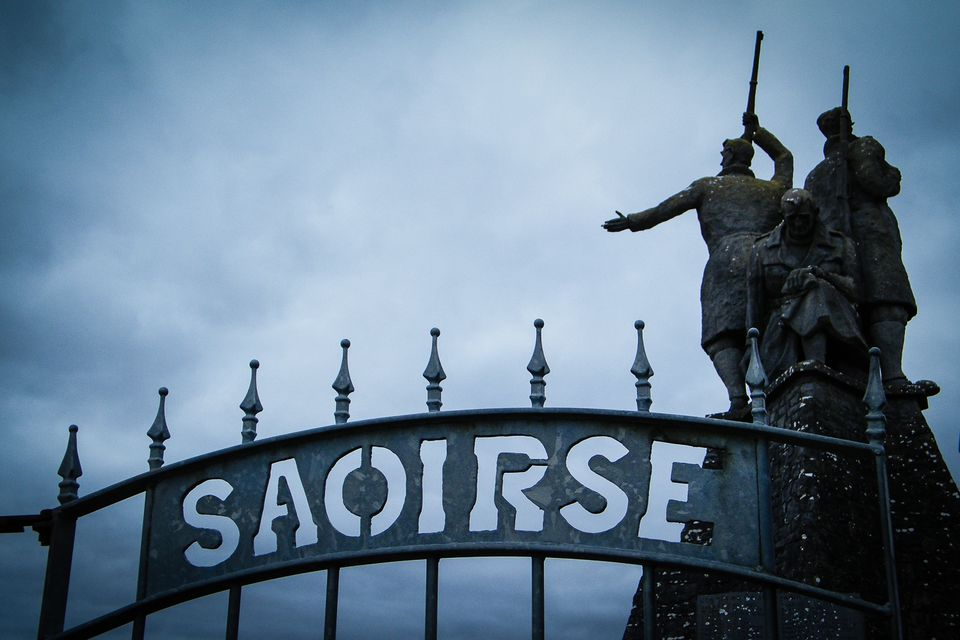 Rebels Monument in County Roscommon