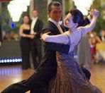 Antonio Banderas as Pierre and Anna Dimitrie Melamed as his dance partner in Take the Lead.