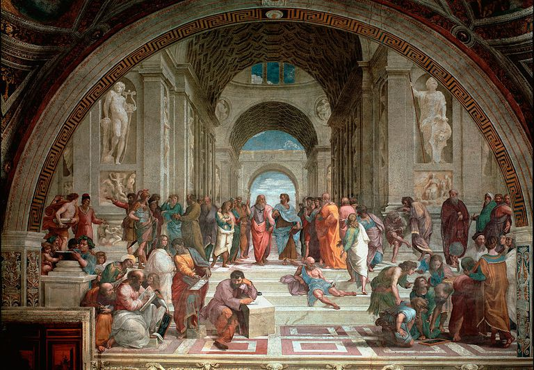 The School of Athens by Raphael