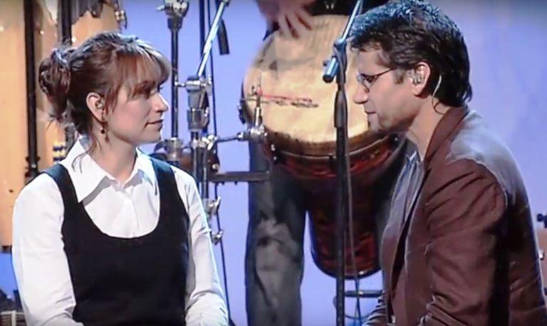Jesús Adrian Romero y su esposa Pecos
