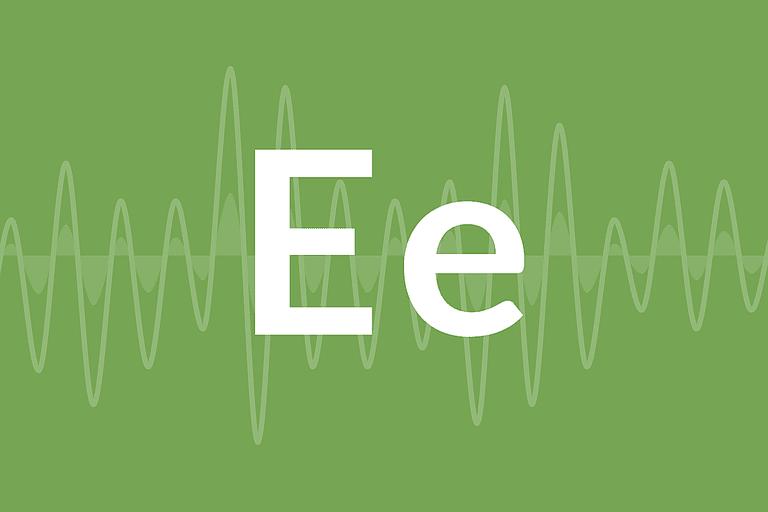 """The Letter """"E"""""""