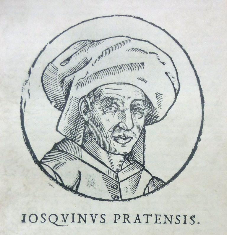 Portrait of the Composer Josquin des Prez, c. 1610. Artist: Anonymous