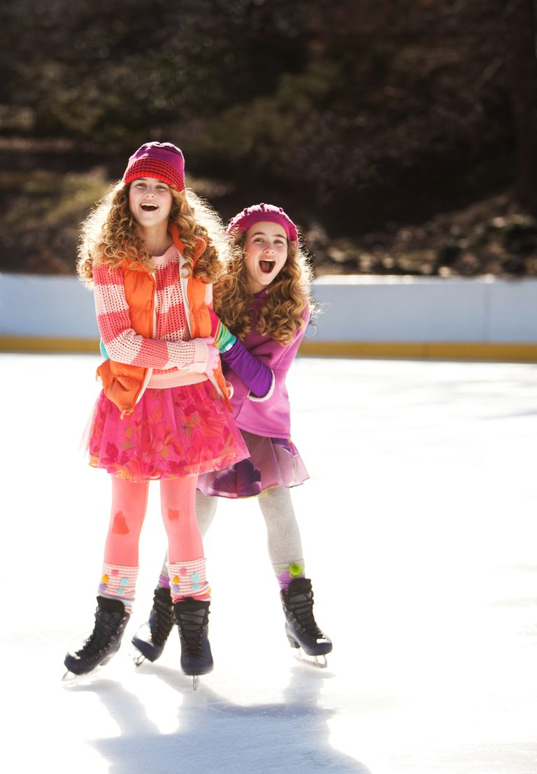 Beginning Ice Skaters