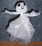 Grocery Bag Flying Ghost