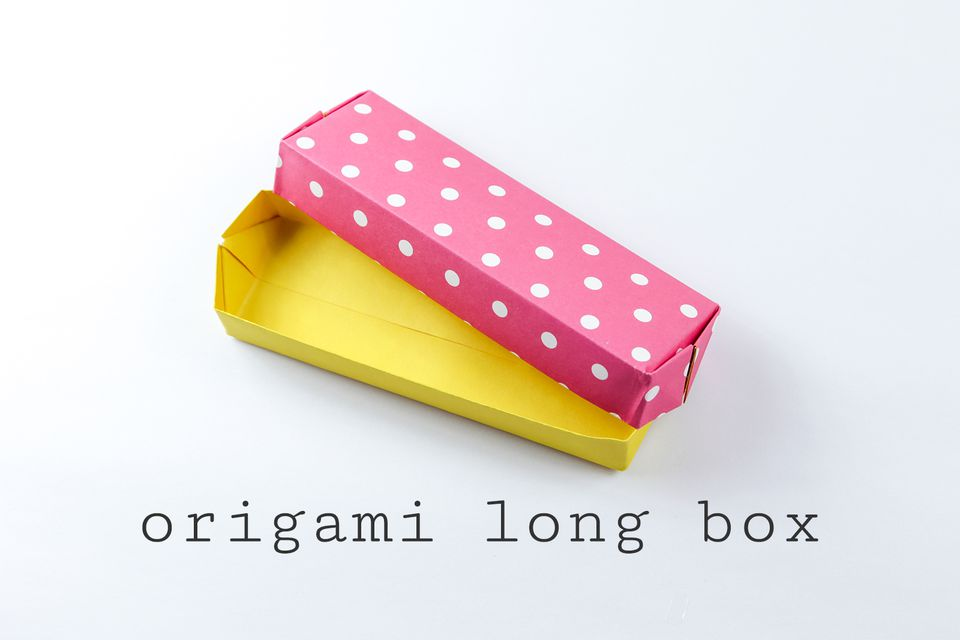 easy origami long box 0