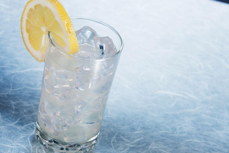 Bombay Sapphire Gin's Lavender Sapphire Collins Cocktail Recipe