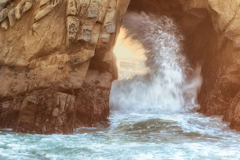 Hole in the Rock at Pfeiffer Beach