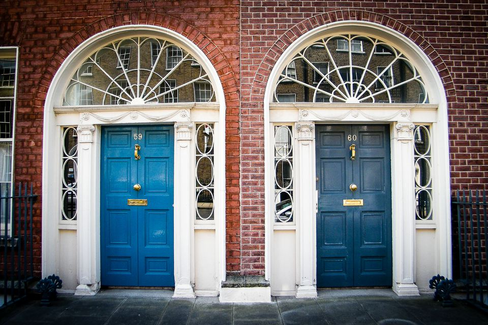 The Doors of Dublin - always good image material, and available on many souvenir articles