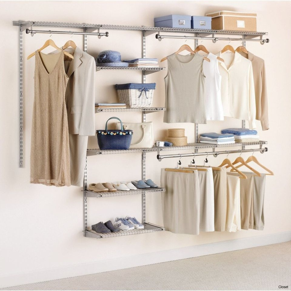 Top 5 closet systems - Storage for small bedroom without closet ...