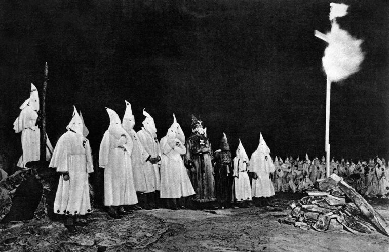 a history of the culture of the ku klux klan