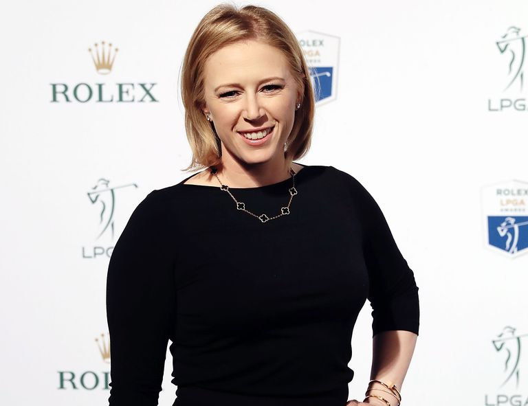 Morgan Pressel at the 2016 LPGA Rolex Players Awards