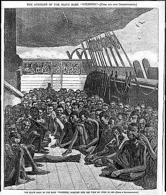 Slave Decks on the Slave Bark Wildfire
