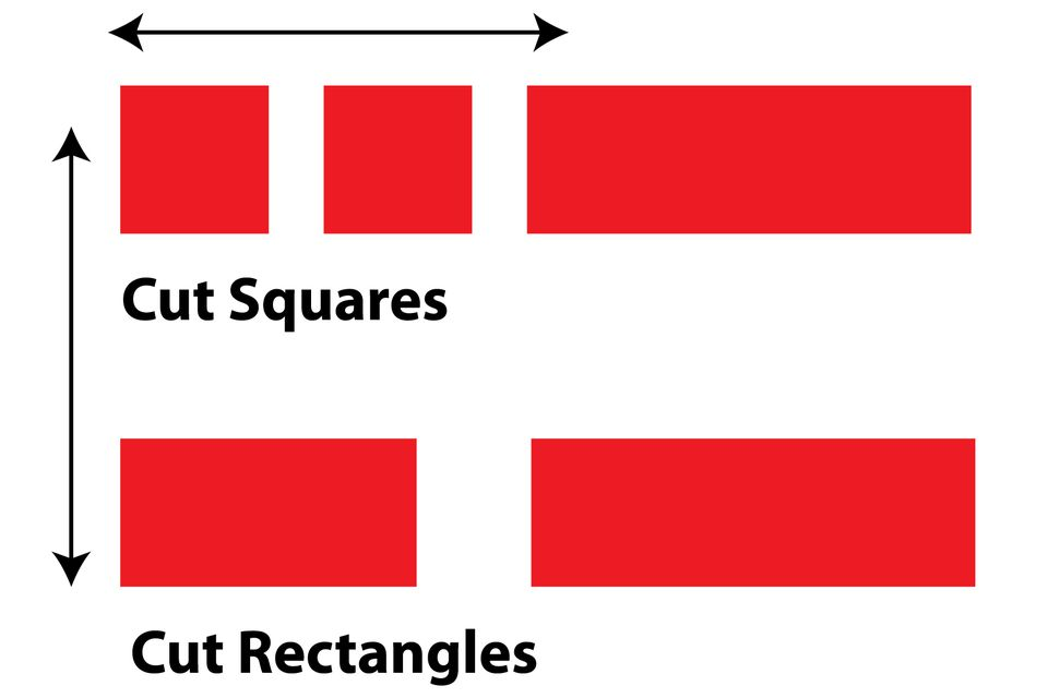 How to Rotary Cut Squares