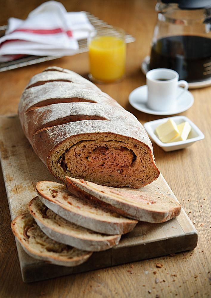 Beetroot, Pumpkin Seed and Cheddar Brunch Bread Recipe