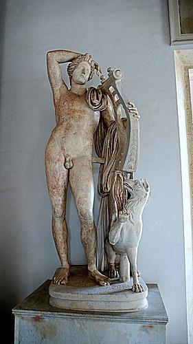 Apollo Citaredo ai Musei Capitolini