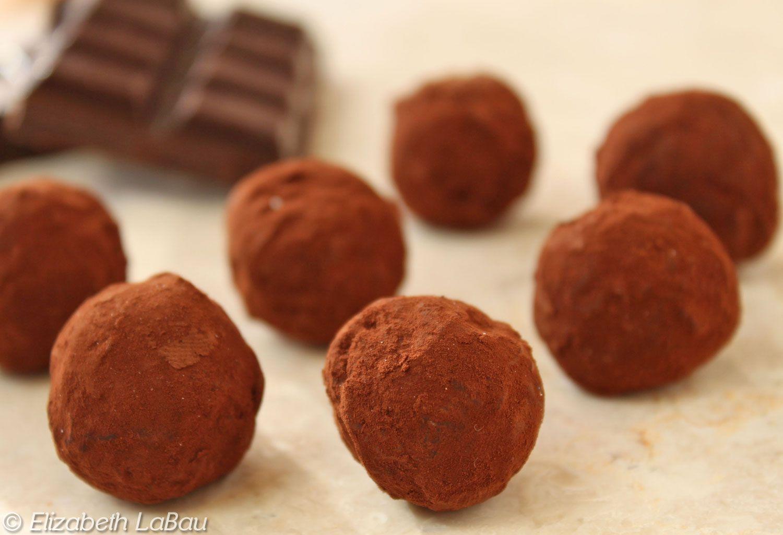Dark Chocolate Truffle Candy Recipe