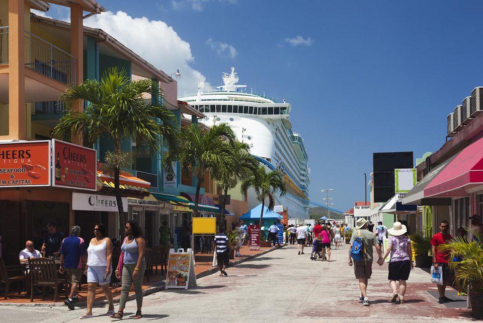 Heritage Quay, Cruiseship terminal shopping area