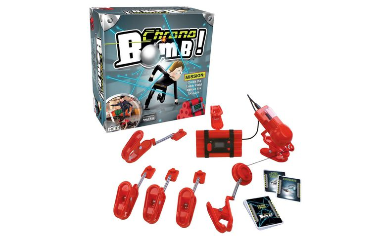 School-age toy: Chrono Bomb spy action game