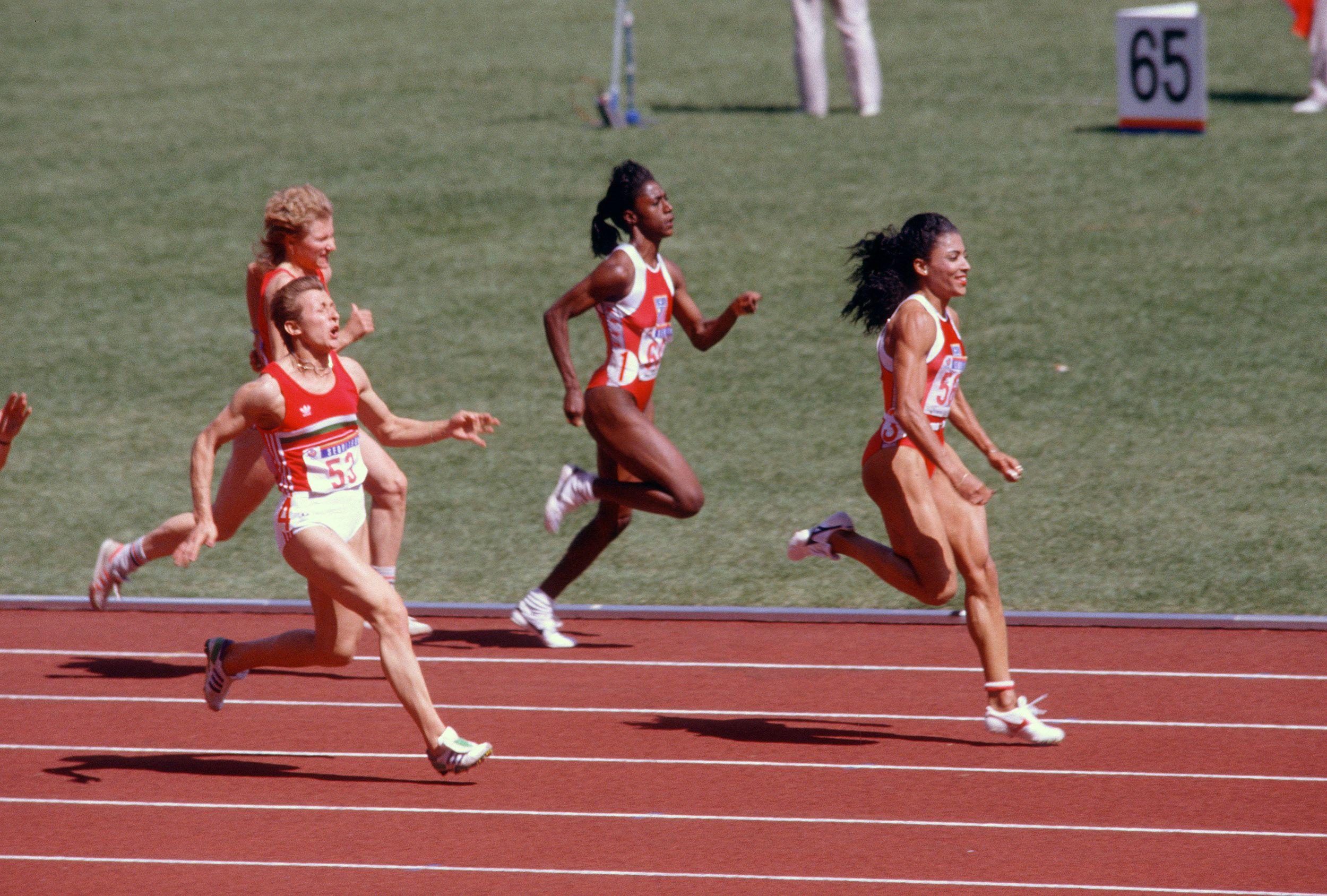 average running speed