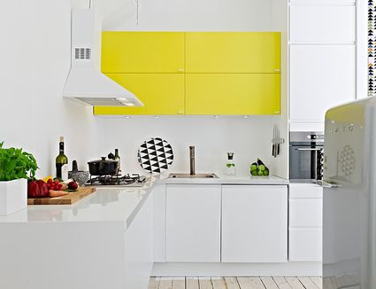 10 of the most inspiring colorful kitchen cabinets - Colorful Kitchen Ideas