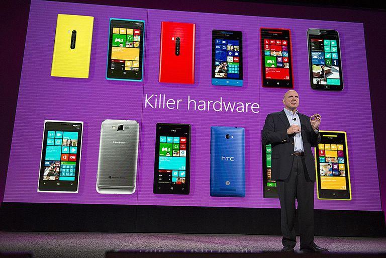 Ballmer and Windows Phone 8 Hardware