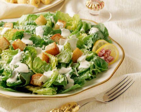 gluten-free Caesar salad