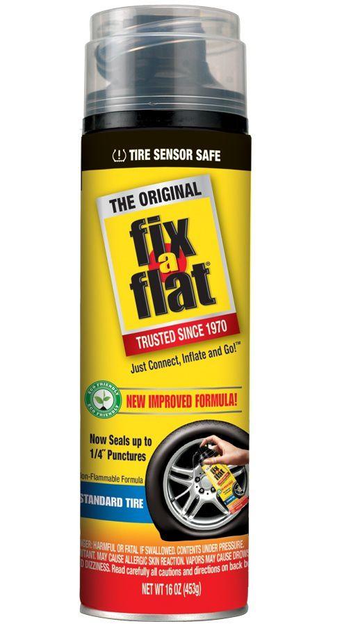 Fix-a-Flat is a non-explosive tire sealer.
