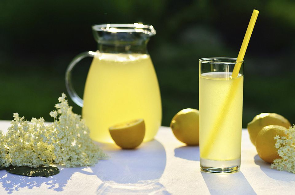 Refreshing Elderflower Cordial