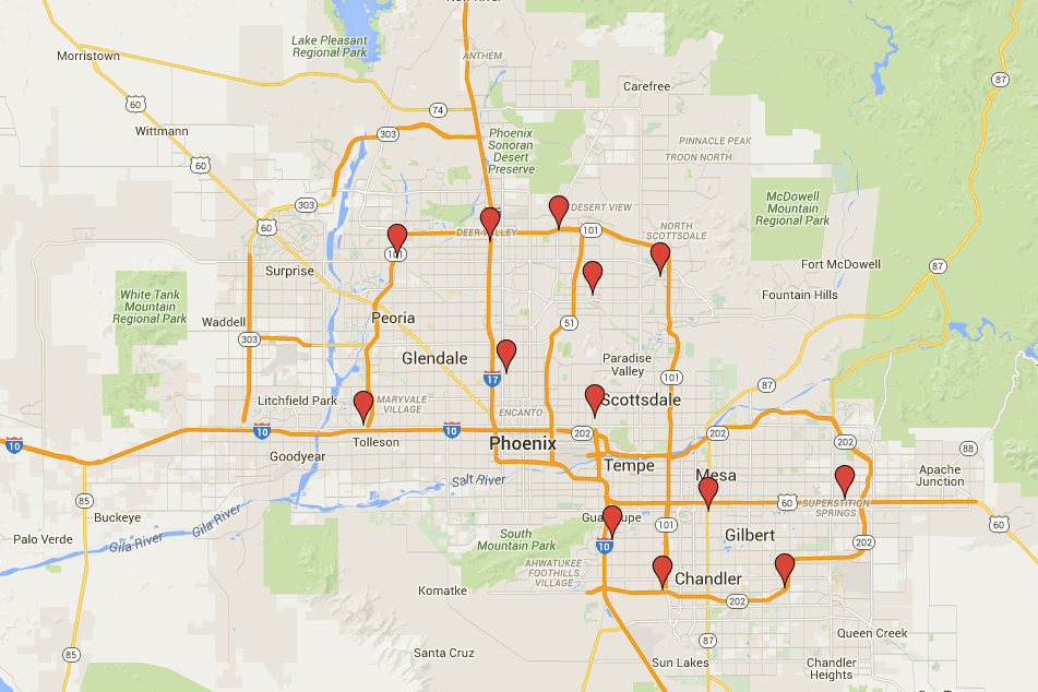 costco stores in phoenix addresses contact info map. Black Bedroom Furniture Sets. Home Design Ideas