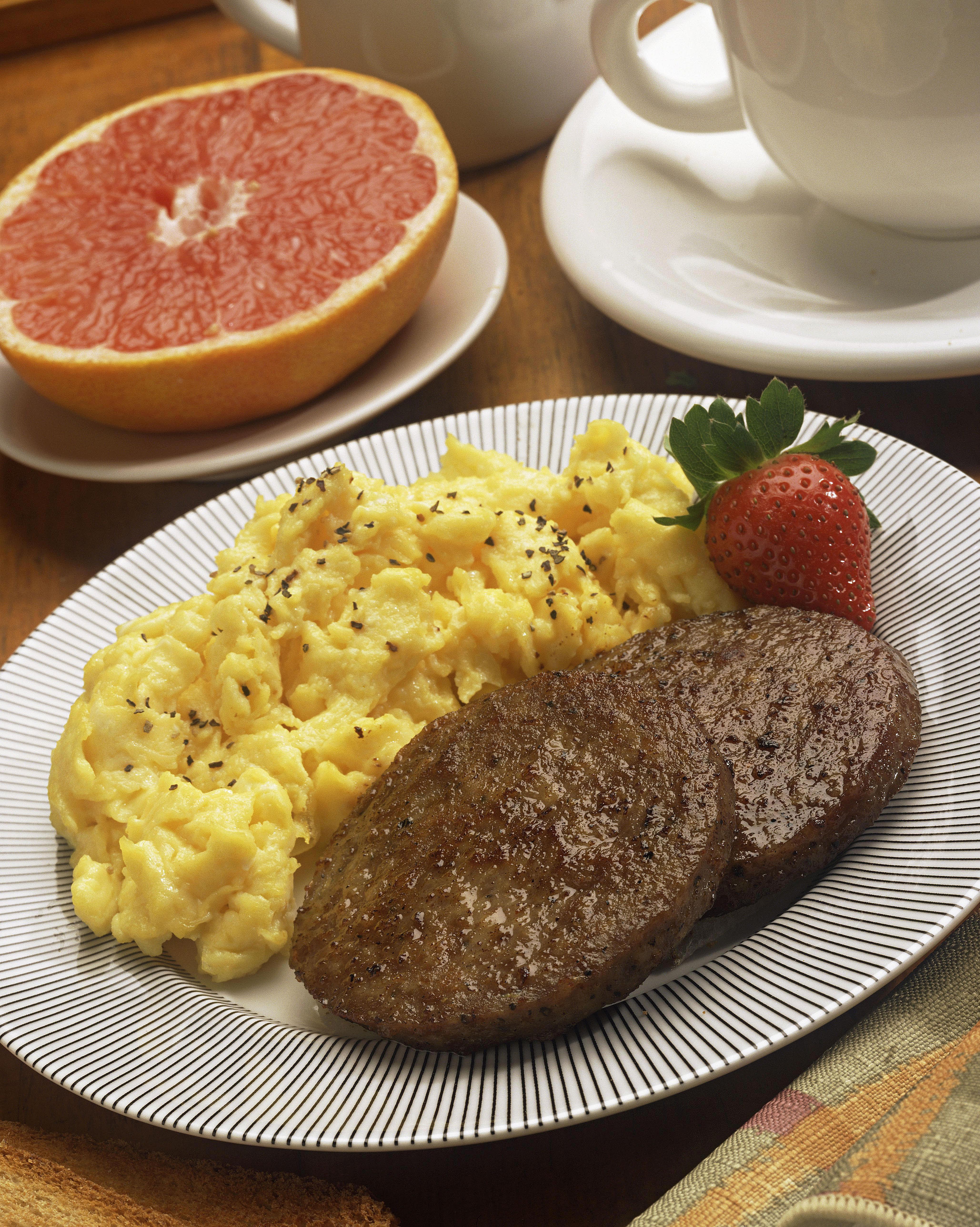 Завтрак сосиски рецепт