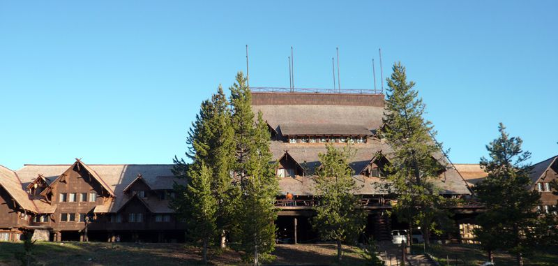 Old Faithful Inn in Yellowstone National Park © Angela M. Brown (2008)