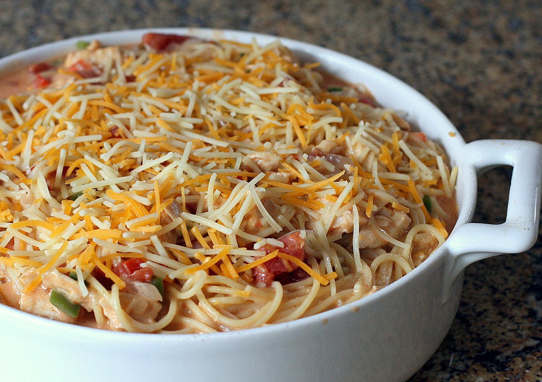 Chicken Spaghetti Recipe With Cheese