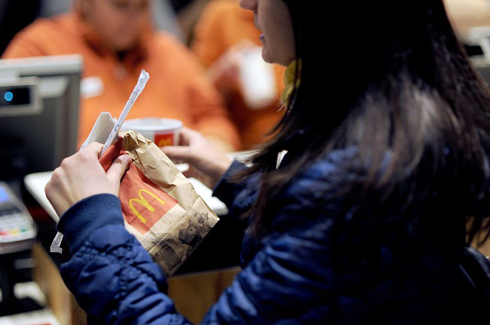 woman McDonald's