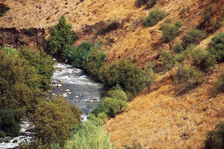 The Jordan river in Israel is a possible origin of the Giordano surname