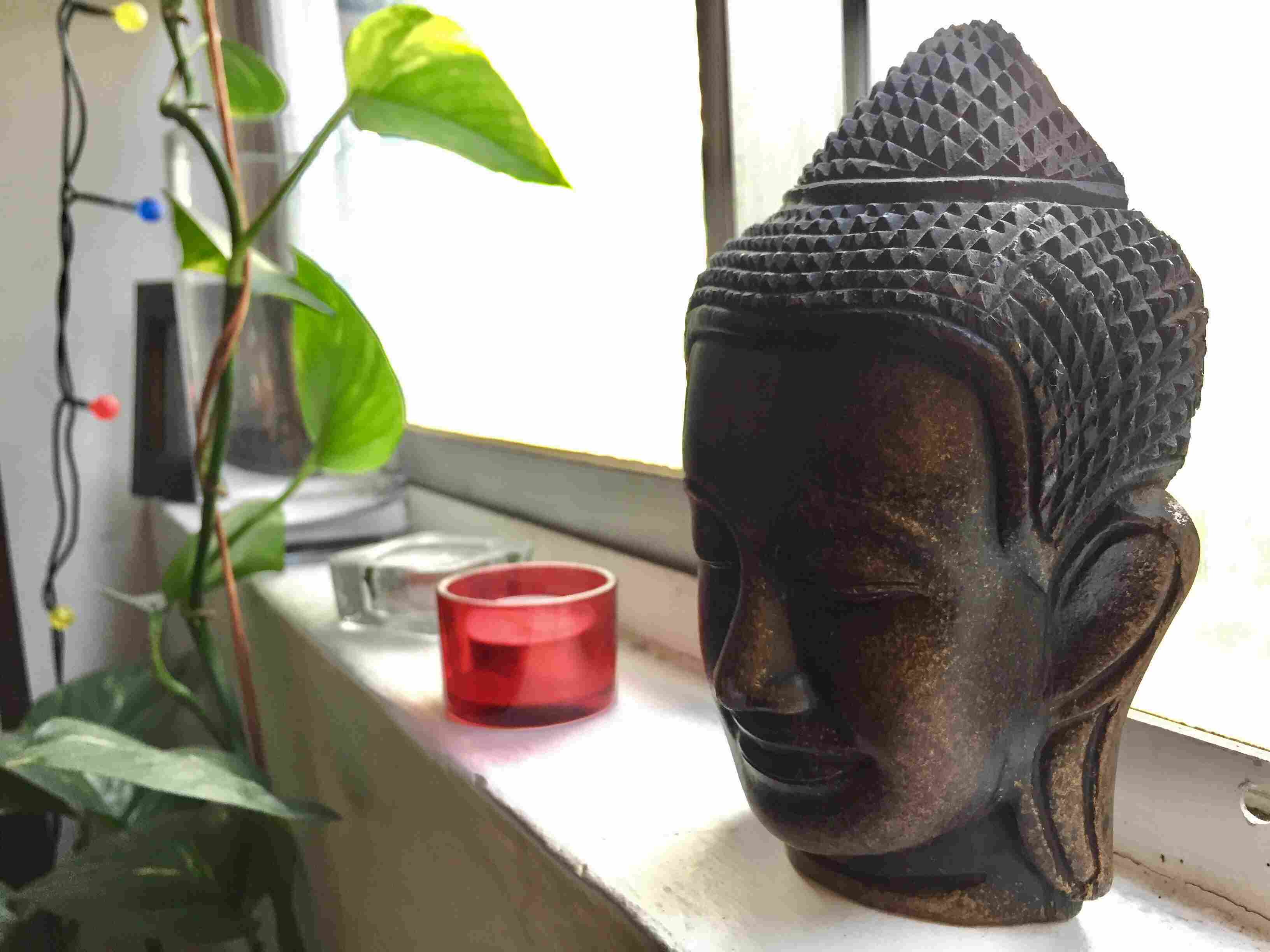 buddha statues decor photo home for