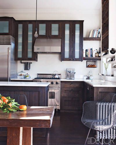 Keri Russell's kitchen in Elle Decor Magazine