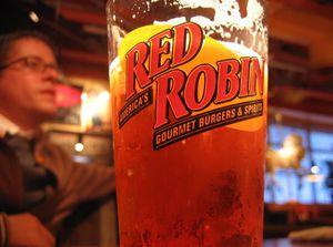 Birthday dinner at Red Robin