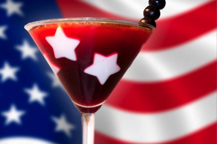 PAMA American Dream Cocktail