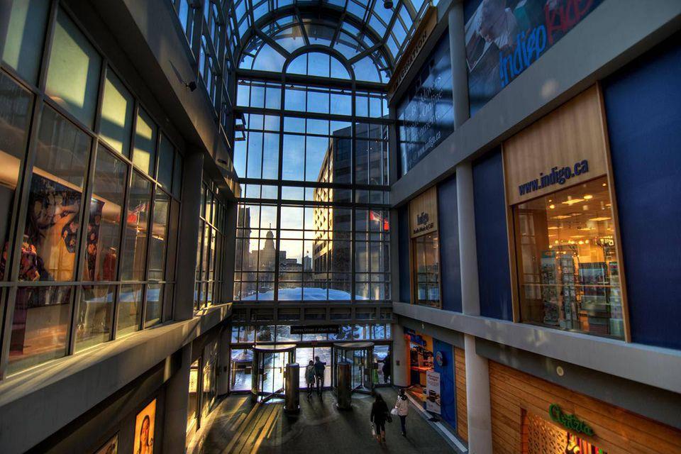 The Toronto Eaton Centre