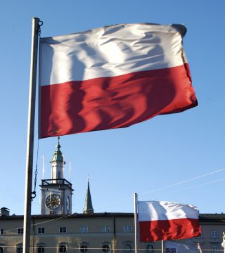 Poland's National Flag