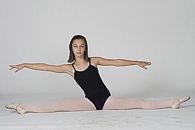learn how to do a center split for gymnastics