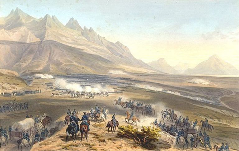 Fighting at Buena Vista
