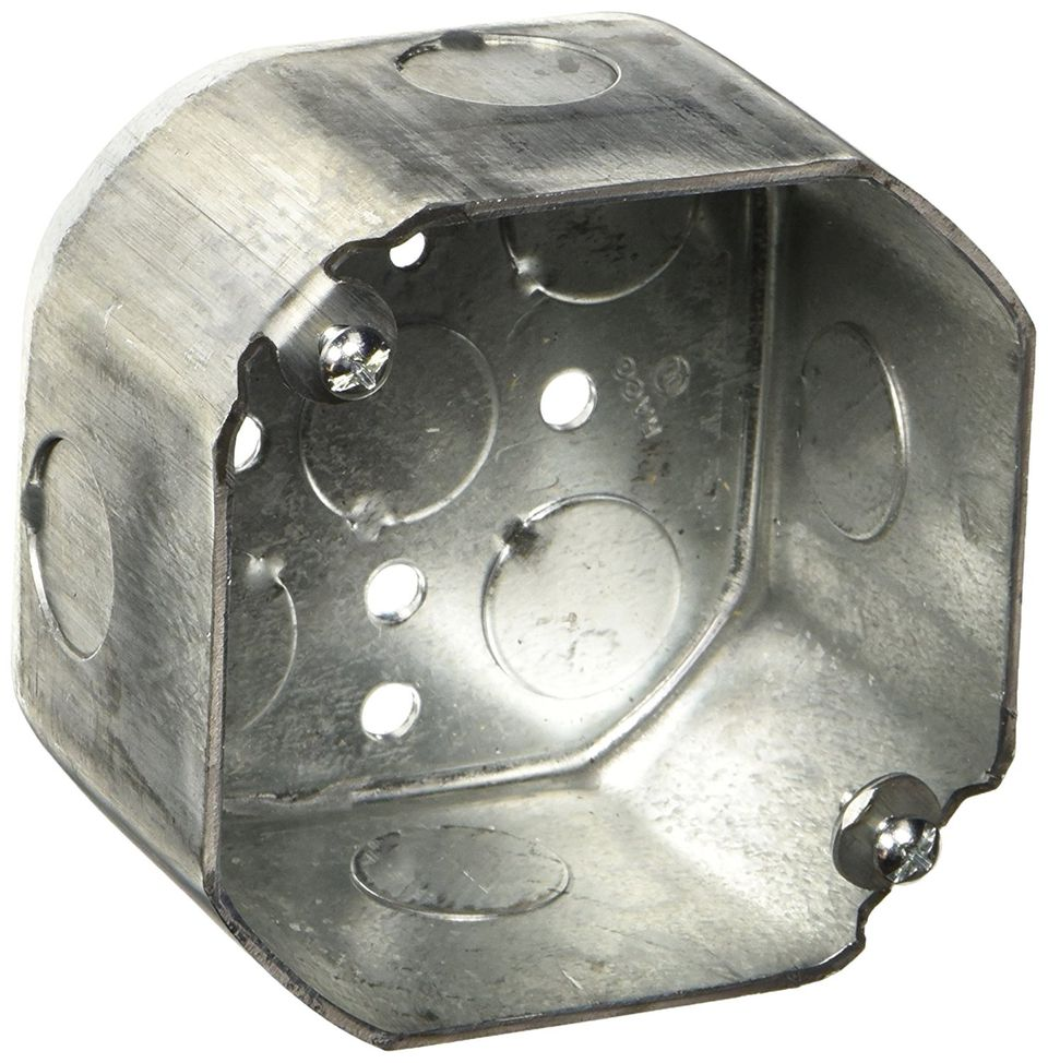 octagon electrical box